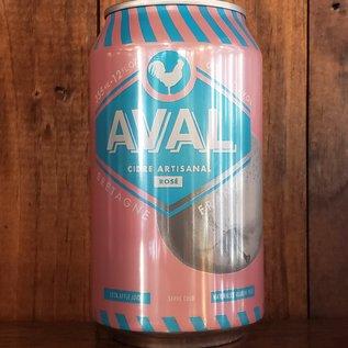 AVAL Cidre Artisanal Aval Rose Cider, 6% ABV, 12oz Can
