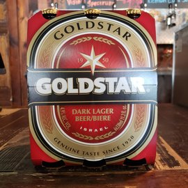 Tempo Beer Industries Ltd Goldstar Dark Lager, 4.9% ABV, 6 Pack Bottles