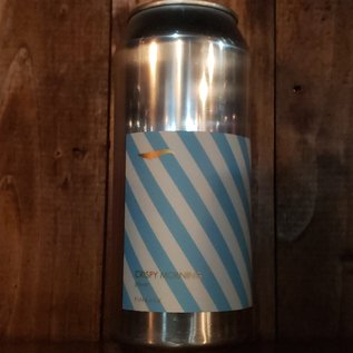Finback Crispy Morning Pilsner, 5.2% ABV, 16oz Can