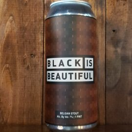 Wild East Brewing Co Black Is Beautiful Stout, 7% ABV, 16oz Can