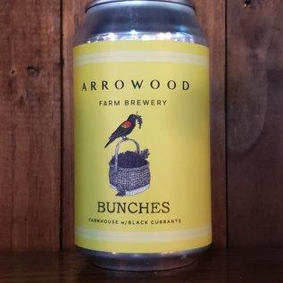 Arrowood Farms Bunches Wild Farmhouse Ale, 5% ABV, 12oz Can