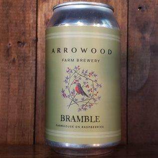 Arrowood Farms Bramble Wild Farmhouse Ale, 5% ABV, 12oz Can
