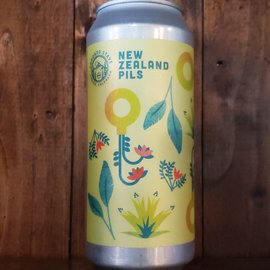 Crooked Stave New Zealand Pils, 5.2% ABV, 16oz Can