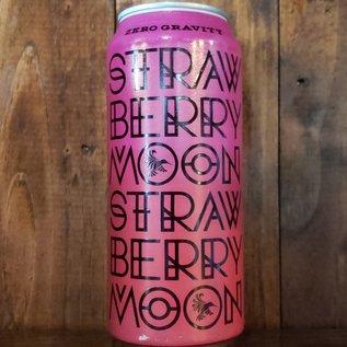 Zero Gravity Strawberry Moon Sour Ale, 5.2% ABV, 16oz Can