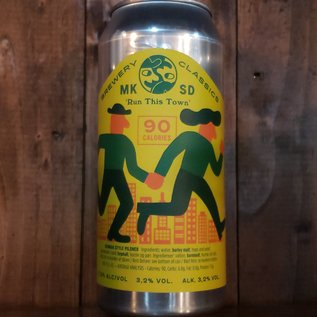 Mikkeller Brewing San Diego Run This Town Pilsner, 3.2% ABV, 16oz Can