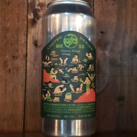 Mikkeller Brewing San Diego Guava Gang Gose, 5% ABV, 16oz Can
