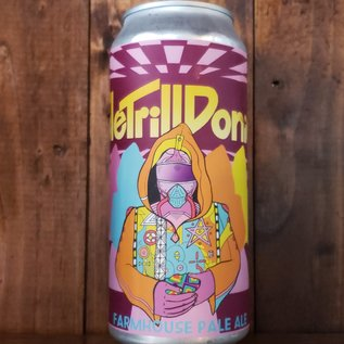 Hoof Hearted Brewing TeleTrillDonics Farmhouse Pale Ale, 6% ABV, 16oz Can