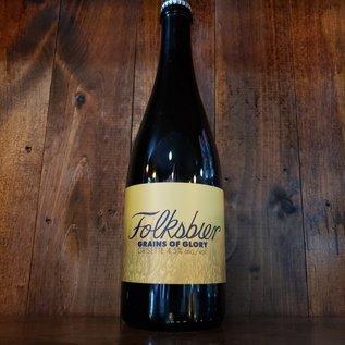 Folksbier Grains of Glory Grisette, 4.5% ABV, 25oz Bottle