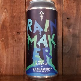 Torch & Crown Brewing Company Rainmaker Hazy Pale Ale, 4.8% ABV, 16oz Can