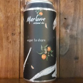 Marlowe Artisanal Ales Eager To Share: Galaxy Pale Ale, 5.4% ABV, 16oz Can