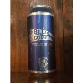 Widowmaker Brewing Blue Comet NE IPA, 7.1% ABV, 16oz Can