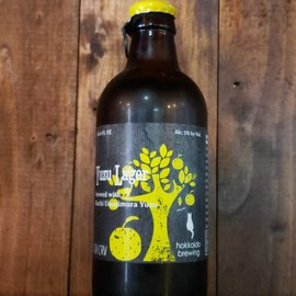 Hokkaido Brewing Company Hokkaido Yuzu Lager, 5% ABV, 10.14oz Bottle