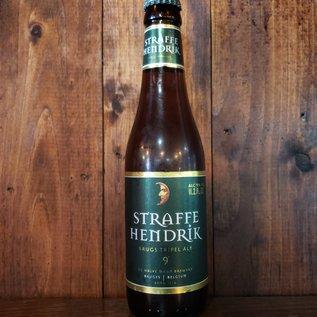 Brouwerij De Halve Maan Straffe Hendrik Brugs Tripel Bier 9°, 9% ABV, 11.2oz Bottle