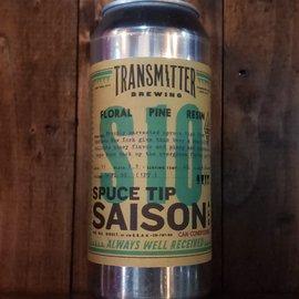 Transmitter S10 Spuce Tip Saison, 4% ABV, 16oz Can