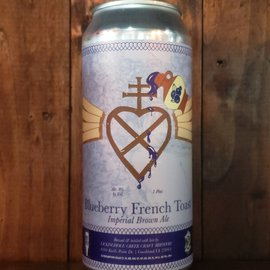 Lickinghole Creek Craft Brewery Blueberry French Toast Brown Ale, 8% ABV, 16oz Can