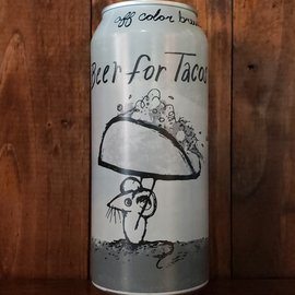 Off Color Beer For Tacos Gose, 4.8% ABV, 16oz Can
