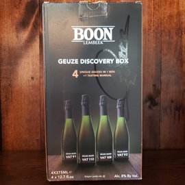 Brouwerij Boon Boon Vat Gueze Discovery Box, 8% ABV, 4/12.7oz Bottles