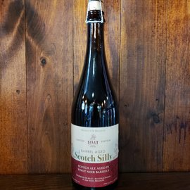 Brasserie de Silly Brasserie de Silly-Pinot Noir Barrel Aged Scotch Silly Scotch Ale, 10% ABV, 25oz Bottle