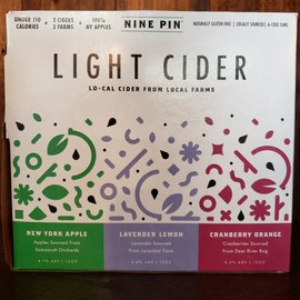 Nine Pin Light Cider Variety 6 Pack Cans