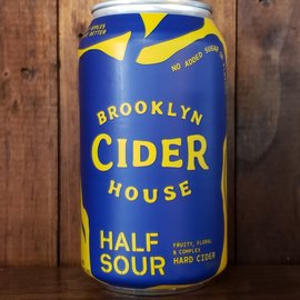 Brooklyn Cider House Brooklyn Cider Half Sour, 5.8% ABV, 12oz Can
