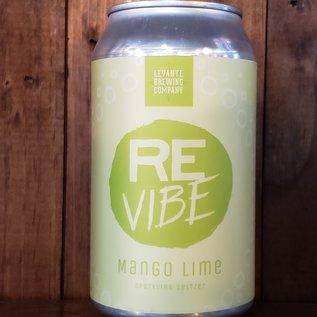 Levante Brewing Company ReVibe - Mango Lime Hard Seltzer, 5% ABV, 12oz Can