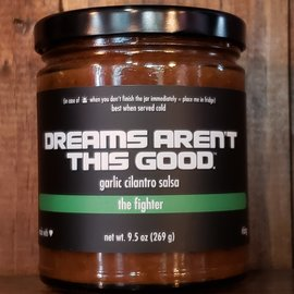Dreams Aren't This Good Salsa, The Fighter, 9.5oz Jar