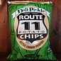 Route 11 Potato Chips Dill Pickle Potato Chips, 6oz Bag