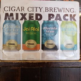 Cigar City Brewing Cigar City Mixed Pack, 12 Pack