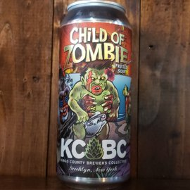 KCBC - Kings County Brewers Collective KCBC-Child of Zombie Sour Ale, 4.5% ABV, 16oz Can