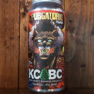 KCBC - Kings County Brewers Collective KCBC IL Purgatorio Italian Style Pilsner, 4.9% ABV, 16oz Can