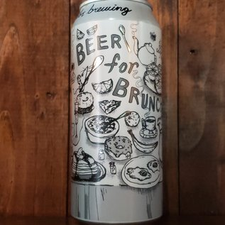 Off Color Beer For Brunch Sour Ale, 6.5% ABV, 16oz Can