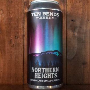 Ten Bends Beer Ten Bends-Northern Heights NE DIPA, 8% ABV, 16oz Can