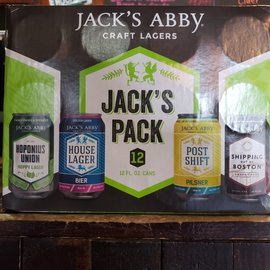 Jack's Abby Jack's Pack Variety Pack, 12pack/12oz Cans