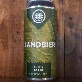 Schiling Landbier Rustic Lager, 4.2% ABV, 16oz Can