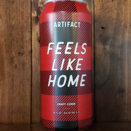 Artifact Feels Like Home Cider, 5.4% ABV, 16oz Can