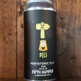 Fifth Hammer Pentatonic Pils, 4.8% ABV, 16oz Can