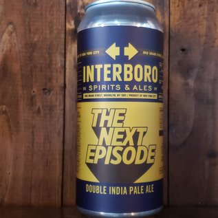 Interboro Interboro-DDH The Next Episode DIPA, 8% ABV, 16oz Can
