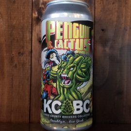 KCBC - Kings County Brewers Collective KCBC-Penguin Vs. Cactus Session IPA, 4.9% ABV, 16oz Can