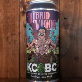KCBC - Kings County Brewers Collective KCBC-Hybrid Vigor DDH DIPA, 8.5% ABV, 16oz Can