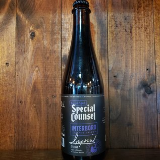 Interboro Barrel Aged Special Counsel Stout, 12% ABV, 500ml Bottle