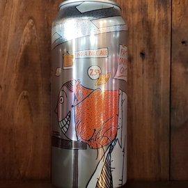 Fat Orange Cat Brew Co. Fat Orange Cat-I Don't Like Mondays NE IPA, 7.5% ABV, 16oz Can