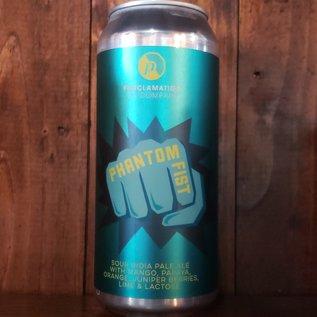 Proclamation Ale Company Proclamation-Phantom Fist V3 Sour IPA, 6.9% ABV, 16oz Can