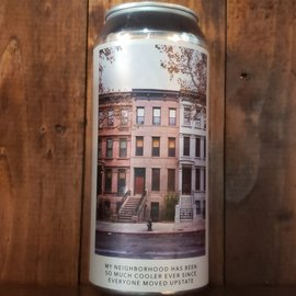 Evil Twin NYC Evil Twin NYC-My Neighborhood Has Been So Much Cooler Ever Since Everyone Moved Upstate DDH DIPA, 8.2% ABV, 16oz Can