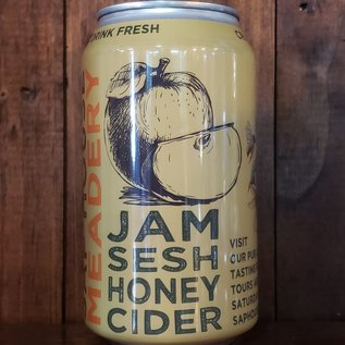 Sap House Jam Sesh Honey Cider, 6.9% ABV, 12oz Can