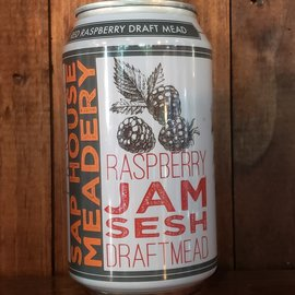 Sap House Raspberry Jam Sesh Mead, 6.9% ABV, 12oz Can