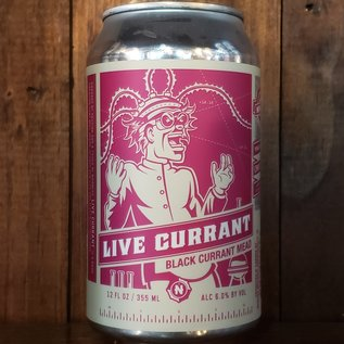 New Day Live Currant Mead, 6% ABV, 12oz Can