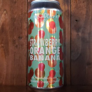 Decadent Ales Strawberry Orange Banana DIPA, 8.6% ABV, 16oz Can
