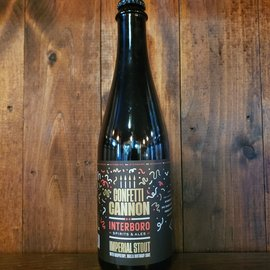 Interboro Confetti Cannon Stout, 13% ABV, 500ml Bottle
