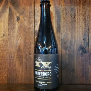 Interboro annIVersary Stout, 13% ABV, 500ml Bottle
