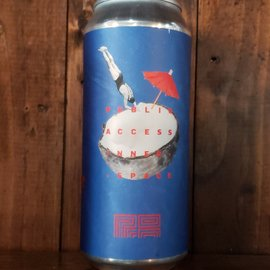 Public Access Inner Space Gose, 9% ABV, 16oz Can